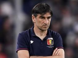 Ivan Juric, tecnico del Genoa. LaPresse