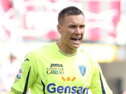 Łukasz Skorupski, 25 anni, portiere dell'Empoli in prestito dalla Roma. Scaccini