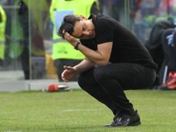 Vincenzo Montella, 42 anni, prima stagione al Milan. Getty
