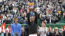 Rafa Nadal, 30 anni, 10 trionfi a Monaco. Ap