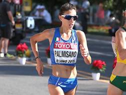 Antonella Palmisano, 25 anni, quarta ai Giochi di Rio e quinta ai Mondiali di Pechino 2015. Colombo