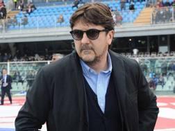 Daniele Sebastiani, presidente del Pescara. Lapresse