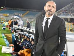 Luciano Spalletti allo stadio di Pescara. Ansa