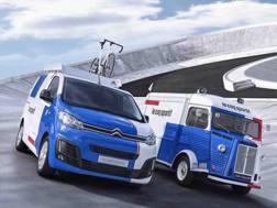 Jumpy e Type H, i furgoni speciali di Citroen