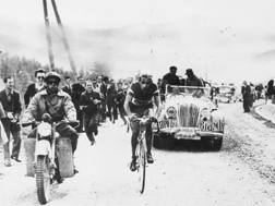 10 giugno 1949 : l'impresa di Fausto Coppi nella Cuneo-Pinerolo dopo una fuga di 192  km