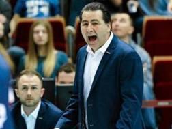 Fefè De Giorgi, 55 anni, nuovo tecnico della nazionale polacca