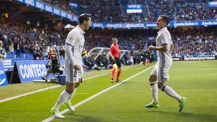 Morata esulta al Riazor. Getty Images