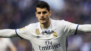 Álvaro Borja Morata Martín, 24 anni, attaccante spagnolo del Real Madrid. Getty Images