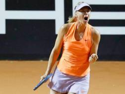 Maria Sharapova, 30 anni. Epa
