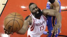 James Harden in azione. AP