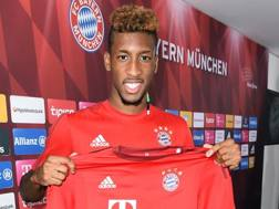 Kingsley Coman, 20 anni, attaccante francese del bayern Monaco. Getty Images