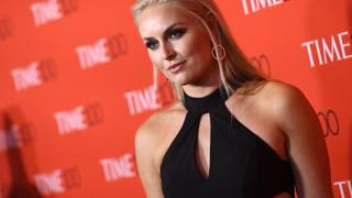 Lindsey Vonn supersexy sul red carpet di Time 100