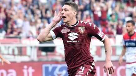 Andrea Belotti, attaccante del Torino. Ansa