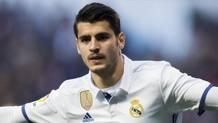 Alvaro Morata, attaccante del Real Madrid. Getty Images