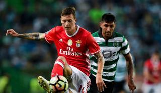 Victor Lindelöf, 22 anni, difensore svedese del Benfica. Afp