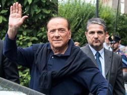 Silvio Berlusconi, 80 anni, ex presidente del Milan. LaPresse