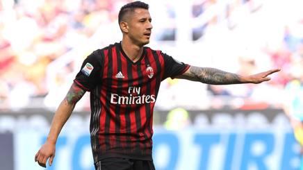 Lapadula nuovamente titolare nel Milan. Getty Images