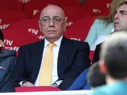 Adriano Galliani, 72, ex a.d. del club. Getty