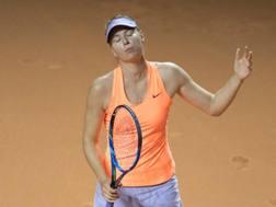 Maria Sharapova. Afp