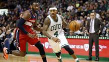 John Wall, 26 anni, e Isaiah Thomas, 28. Reuters