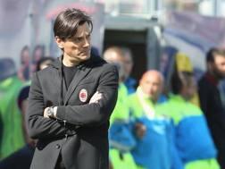Vincenzo Montella, tecnico del Milan. Getty