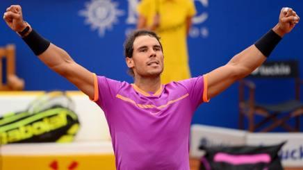 Rafa Nadal, 30 anni. Afp