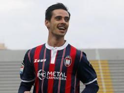 Adrian Stoian, 26 anni, attaccante romeno del Crotone. Getty
