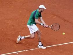Andreas Seppi, 33 anni, bolzanino, n.72 del ranking Atp, oggi in campo nel torneo di Monaco di Baviera EPA