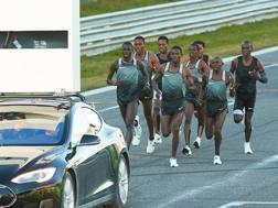 Un momento del test a Monza il 7 marzo