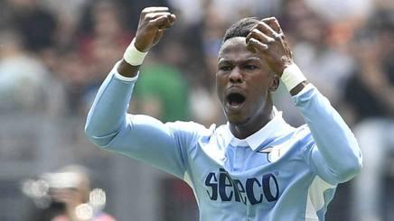 Keita Balde, talento della Lazio. Lapresse