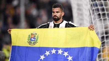 Tomas Rincon, è arrivato alla Juve a gennaio. Lapresse