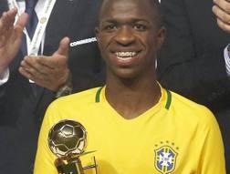 Vinicius Junior , 17 anni.