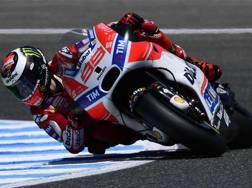 Jorge Lorenzo, 30 anni, prima stagione alla Ducati. Afp