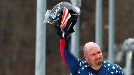 Steven Holcomb, 37 anni. Reuters