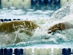 Chase Kalisz, 23 anni, argento olimpico dei 400 mx. Ap