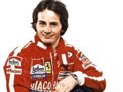 Gilles Villeneuve, morto l'8 maggio 1982 a Zolder, nelle prove del GP del Belgio. Ansa