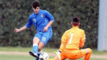 Il centravanti del Genoa e dell'Italia Under 17 Pietro Pellegri, classe 2001. Getty Images