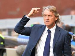 Roberto Mancini, 52 anni. Ansa