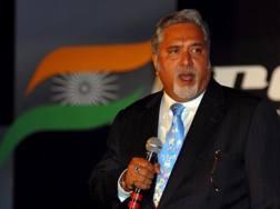 Vijay Mallya, patron della Force India. Epa