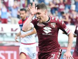 Andrea Belotti, 23 anni, attaccante del Torino e della Nazionale. Ansa
