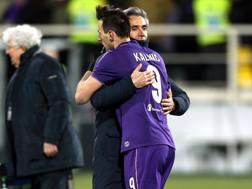 Nikola Kalinic, 29 anni, e Paulo Sousa, 46 anni. GETTY