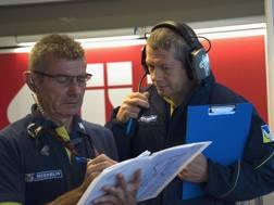 Tecnici Michelin MotoGP. Getty