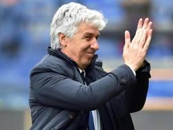 Gian Piero Gasperini, 59 anni, allenatore dell'Atalanta. Ansa