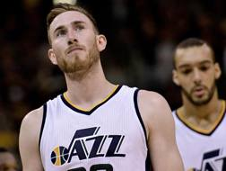 Gordon Hayward di Utah Jazz. AFP