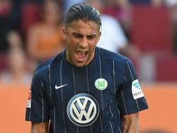 Ricardo Iván Rodríguez Araya, 24 anni, difensore svizzero del Wolfsburg. Afp