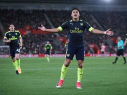 Alexis Sanchez, 20 gol in Premier quest'anno. LaPresse