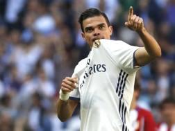 Pepe, 34 anni, difensore del Real Madrid. Lapresse