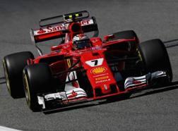 Kimi Raikkonen, iridato 2007. Getty