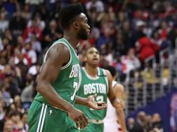 Jaylen Brown, deludente in gara-6. Afp