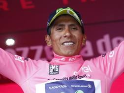 Quintana già padrone del Giro, in rosa sul Blockhaus. Afp